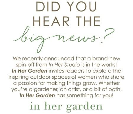 In Her Garden