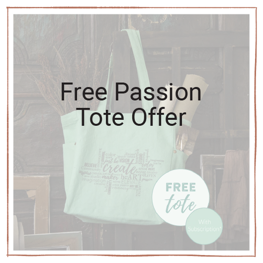 Free Tote With Subscription