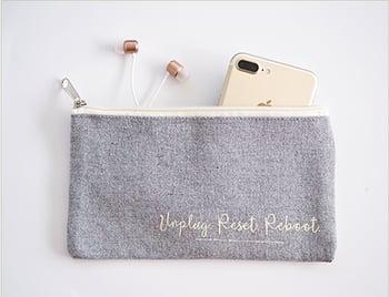 Free Zipper Pouch Gift Offer