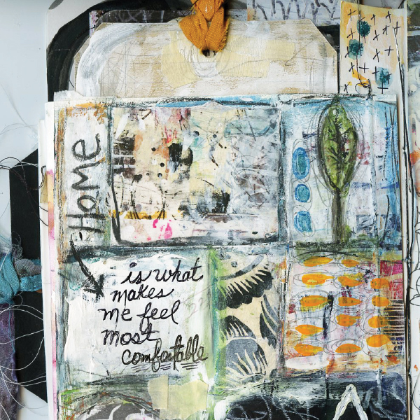 Pop-Up Fringe Journal by Roben-Marie Smith